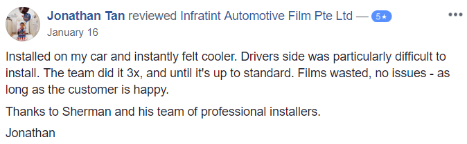 INFRATINT – Heat Under Control – Supreme Cooling Efficiency