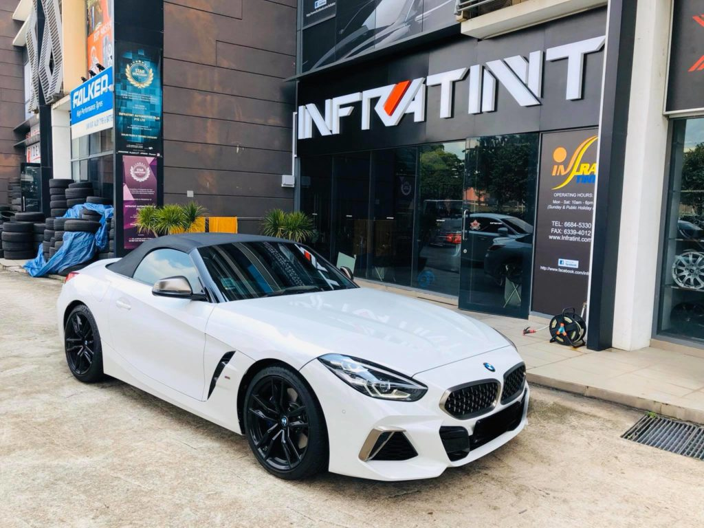 Front View of Infratint