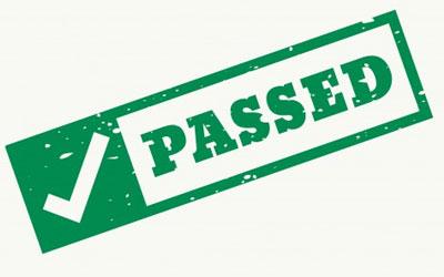 LTA Certification Pass